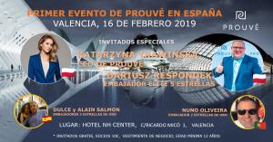 Evento Valencia 16 de Febrero 2019