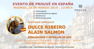 evento Madrid - 24 marzo