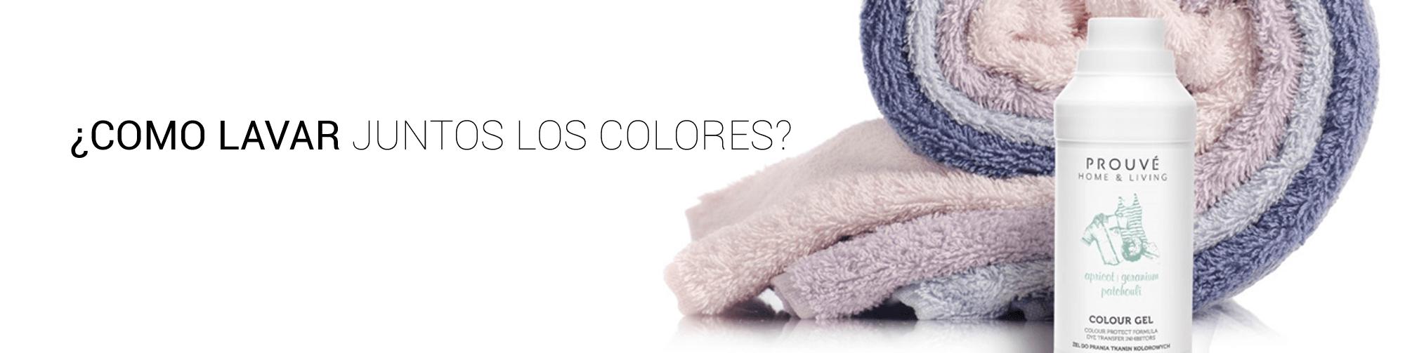 lavar juntos los colores